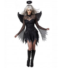 ハロウィン服cosplay衣装 吸血鬼/ヴァンパイア 黒ゴーストの花嫁 巫女の衣装 黒天使コスチュム 演出服