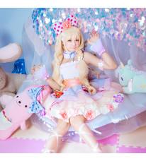 アイドルマスター 双葉杏 ティアードスカート  イチゴ飾り 萌え萌え スカート コスプレ衣装