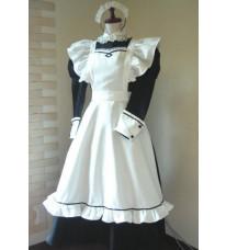 メイド服 ロング 制服 コスプレ衣装 メイドドレス