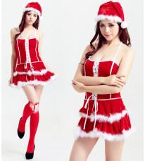クリスマス コスプレ 衣装 仮装 サンタクロース クリスマス コスチューム セクシー パーティ クリスマスコスプレ