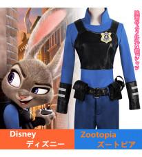 Disney ディズニー Zootopia ズートピア Judy Hopps ジュディ・ホップス コスプレ衣装 コスチューム