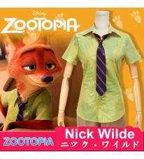 Disney ディズニー Zootopia ズートピア Nick Wilde ニック・ワイルド コスプレ衣装 コスチューム