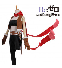 Re:ゼロから始める異世界生活 Feruto フェルトちゃん(リゼロ) コスプレ衣装 盗賊の少女 コスチューム